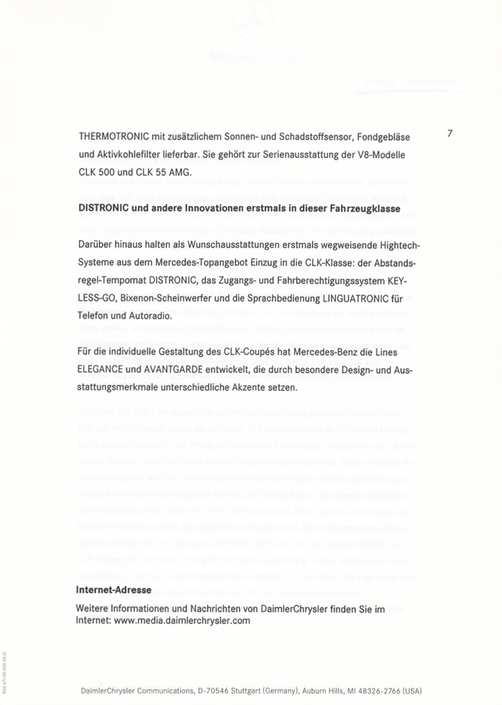 (C209): Press Release 2002 - alemão 010