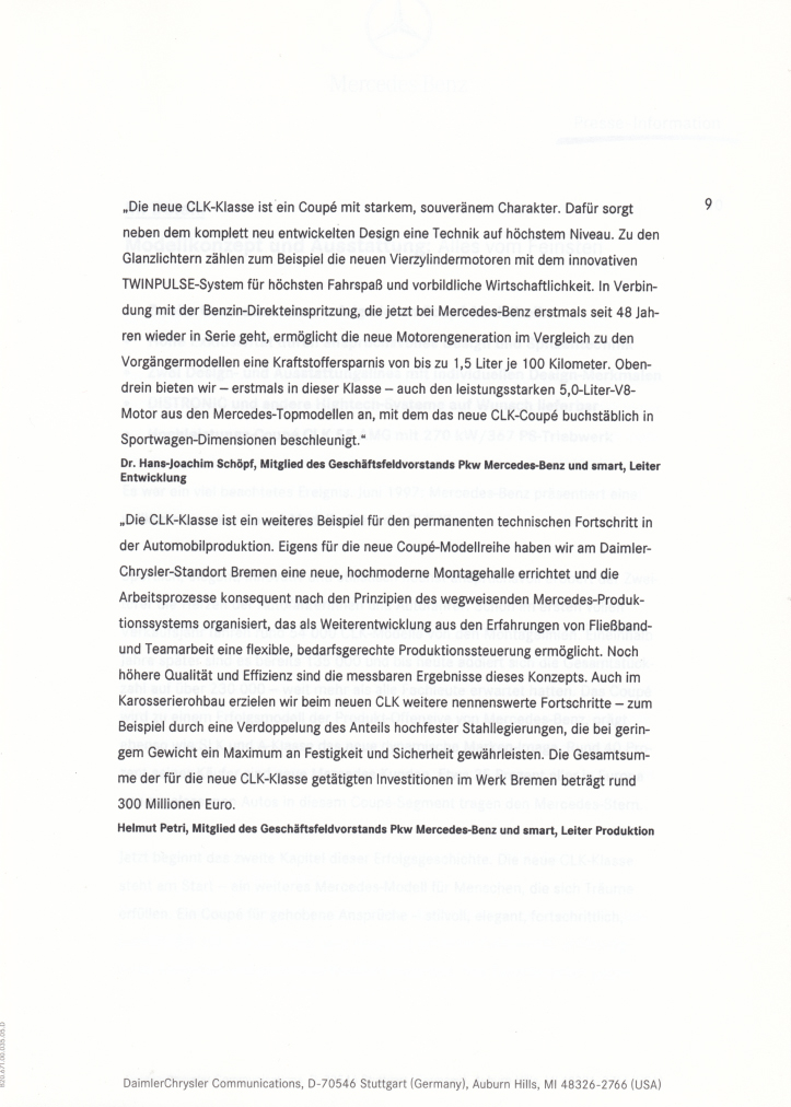(C209): Press Release 2002 - alemão 012