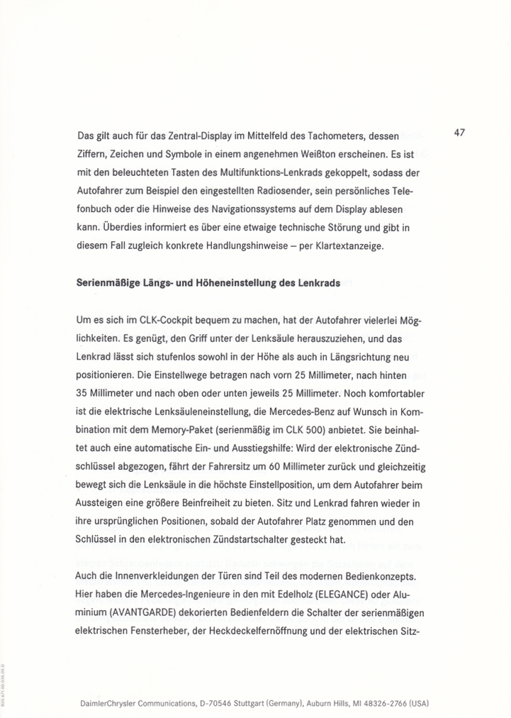 (C209): Press Release 2002 - alemão 053