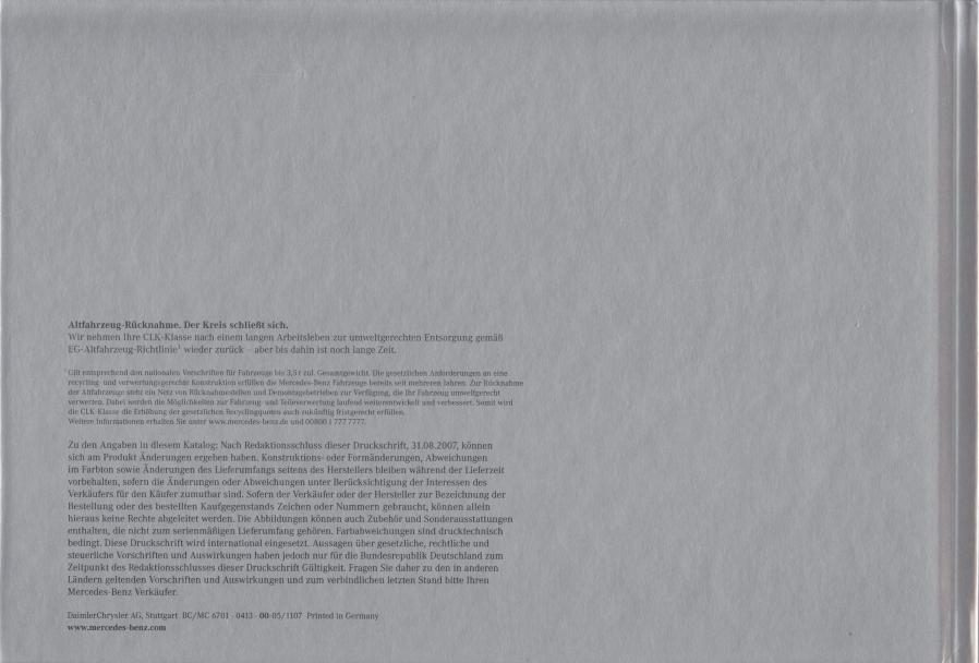 (A/C209): Catálogo 2007 - alemão 039