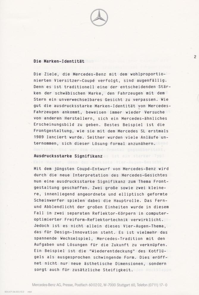 (C208): Brochura - estudos do conceito 1993 - alemão 003
