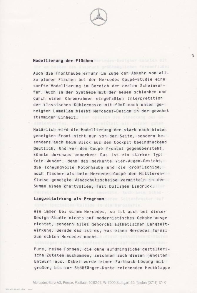 (C208): Brochura - estudos do conceito 1993 - alemão 004