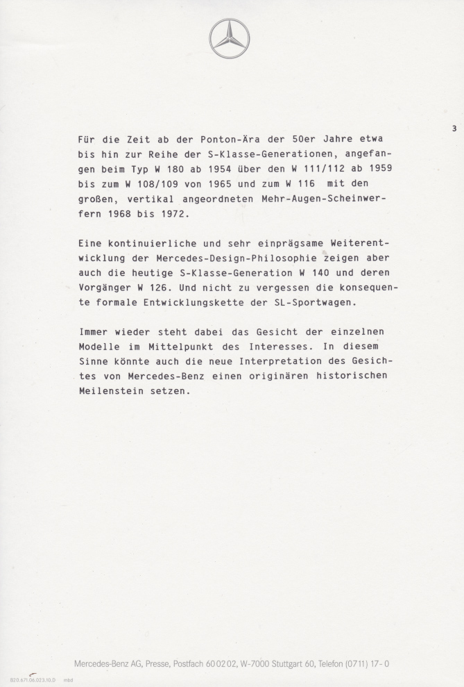 (C208): Brochura - estudos do conceito 1993 - alemão 014