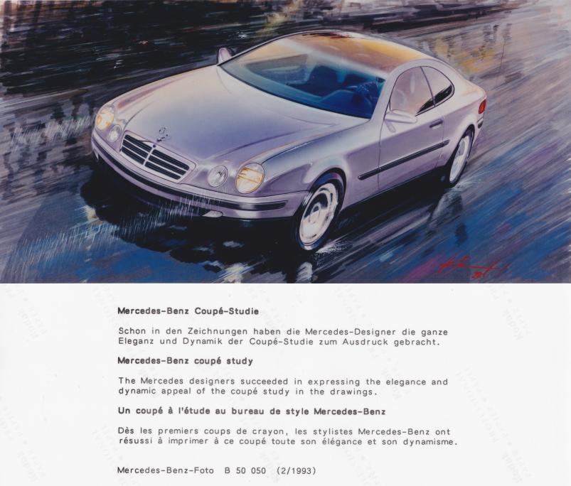 (C208): Brochura - estudos do conceito 1993 - alemão 016