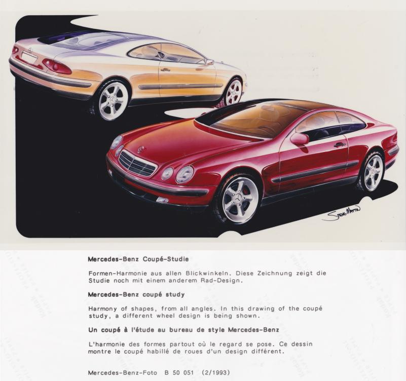 (C208): Brochura - estudos do conceito 1993 - alemão 017