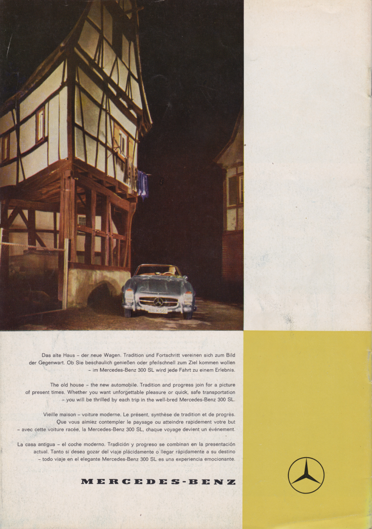 (REVISTA): Periódico In aller welt n.º 29 - Mercedes-Benz no mundo - 1959 - multilingue 013