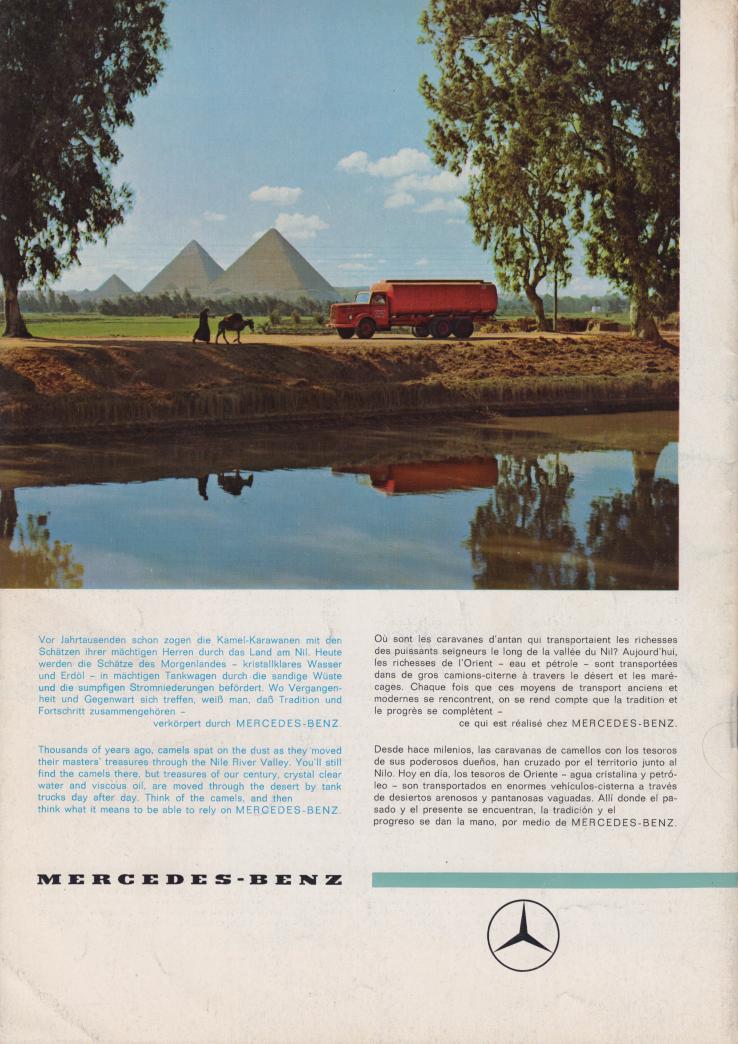 (REVISTA): Periódico In aller welt n.º 30 - Mercedes-Benz no mundo - 1959 - multilingue 015