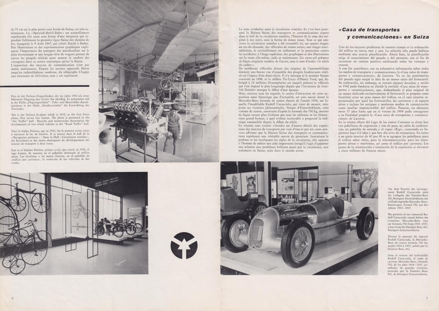 (REVISTA): Periódico In aller welt n.º 37 - Mercedes-Benz no mundo - 1959 - multilingue 004