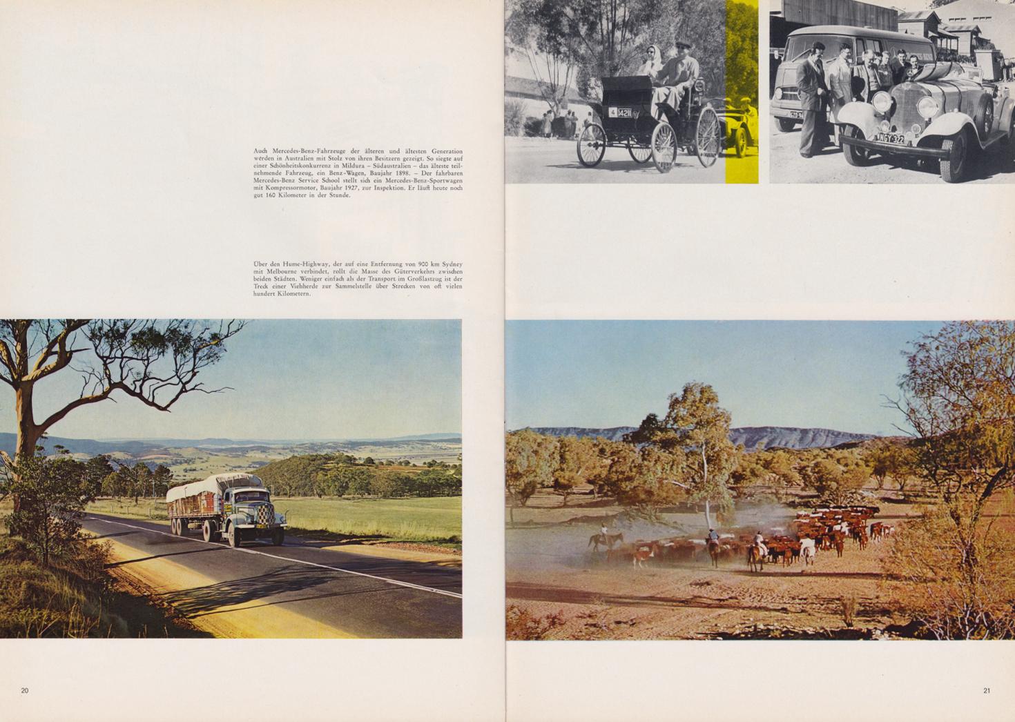 (REVISTA): Periódico In aller welt n.º 44 - Mercedes-Benz no mundo - 1960 - multilingue 011