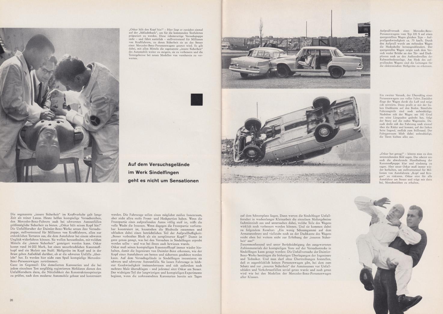 (REVISTA): Periódico In aller welt n.º 44 - Mercedes-Benz no mundo - 1960 - multilingue 014
