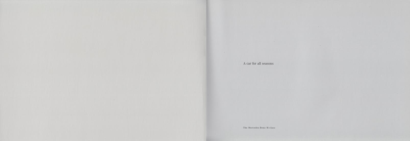 (W163): Catálogo 2001 (1) - inglês 002
