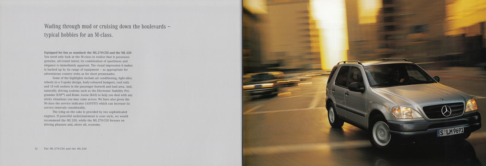 (W163): Catálogo 2001 (1) - inglês 008