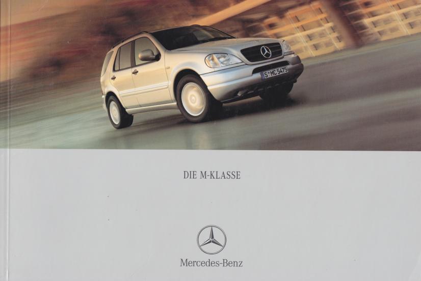 (W163): Catálogo 2000 - alemão 001
