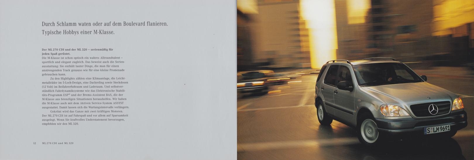 (W163): Catálogo 2000 - alemão 008