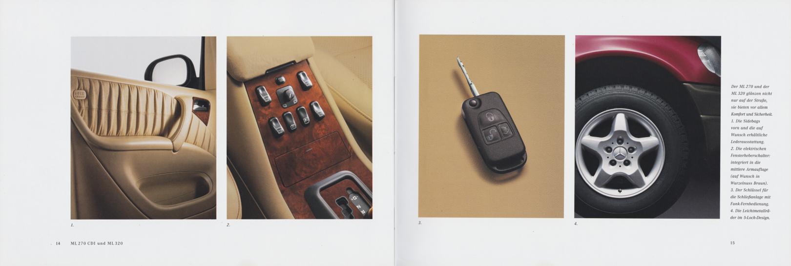 (W163): Catálogo 2000 - alemão 009