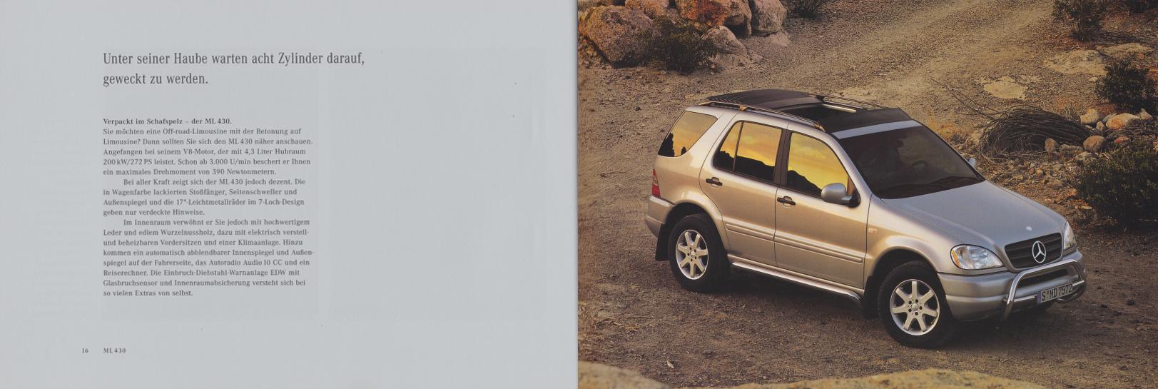 (W163): Catálogo 2000 - alemão 010
