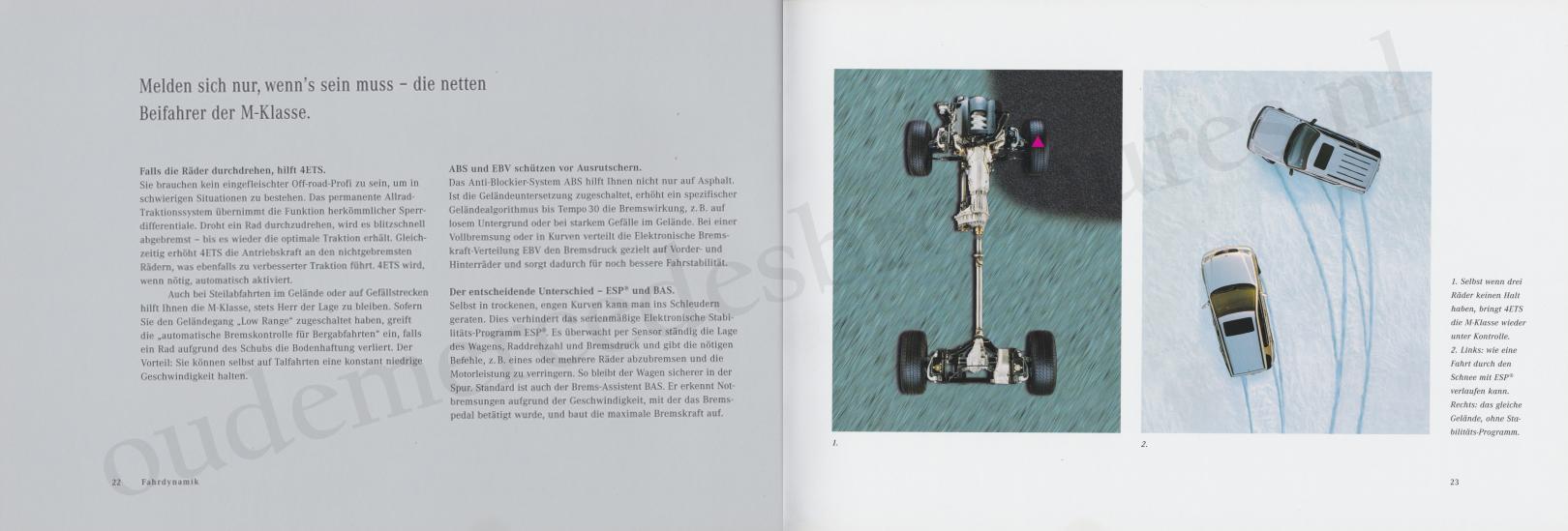 (W163): Catálogo 2000 - alemão 013