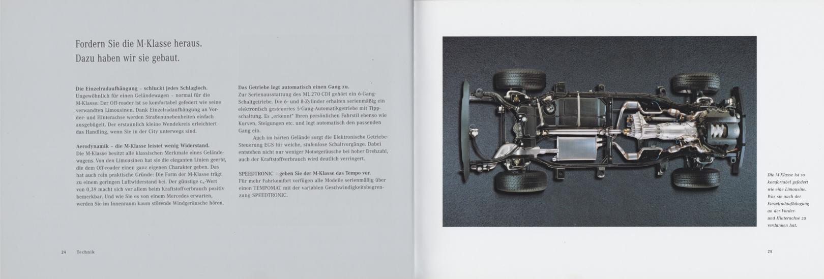 (W163): Catálogo 2000 - alemão 014