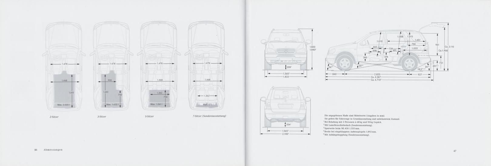 (W163): Catálogo 2000 - alemão 025