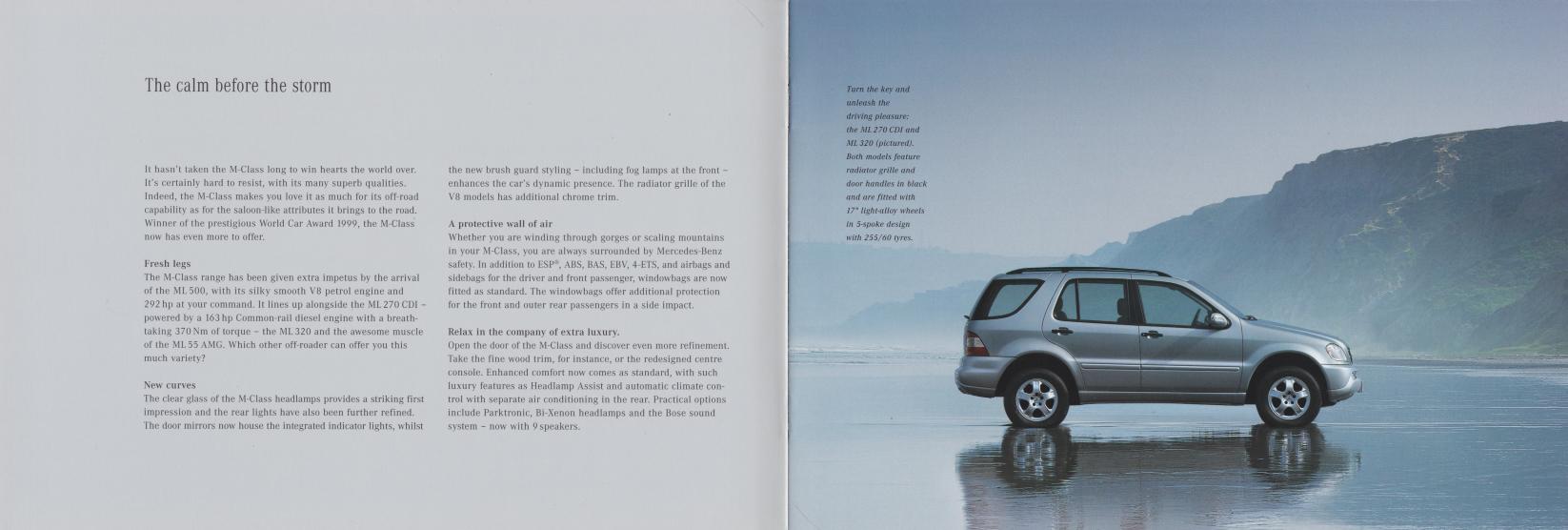 (W163): Catálogo 2001 (2) - inglês 002