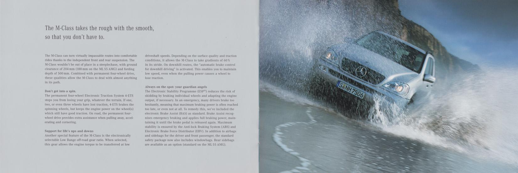 (W163): Catálogo 2001 (2) - inglês 006