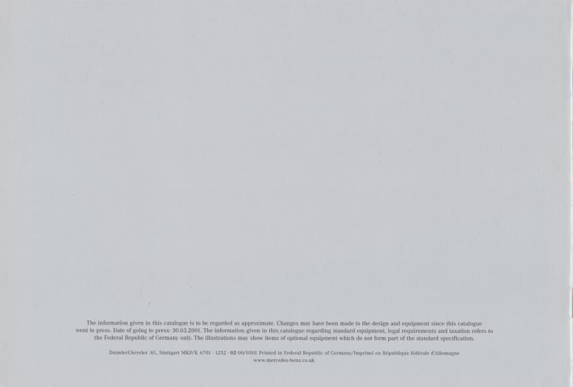 (W163): Catálogo 2001 (2) - inglês 009