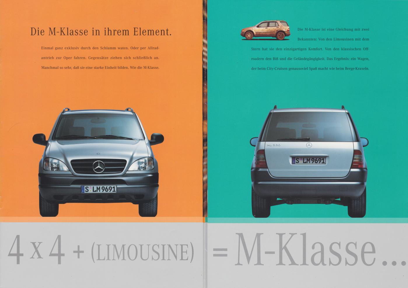 (W163): Catálogo 1997 - alemão  002