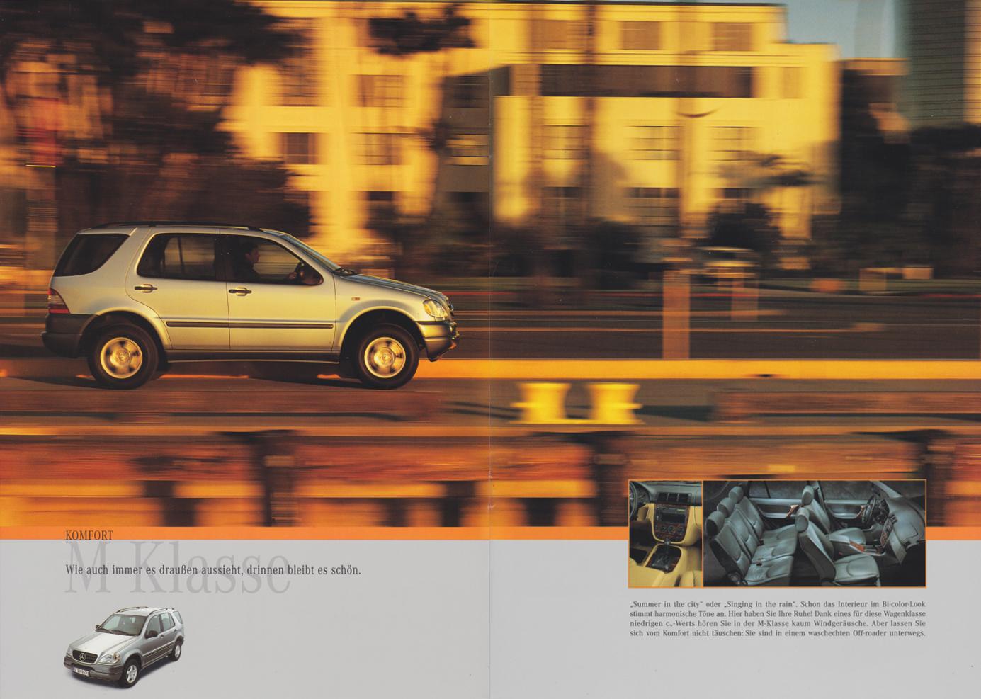 (W163): Catálogo 1997 - alemão  003
