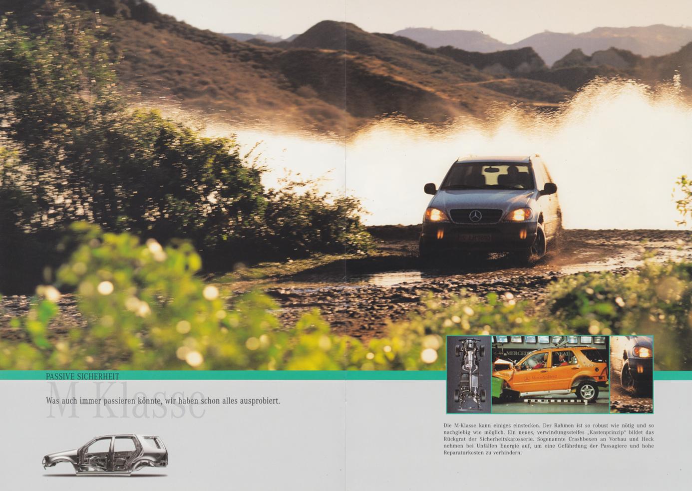 (W163): Catálogo 1997 - alemão  008