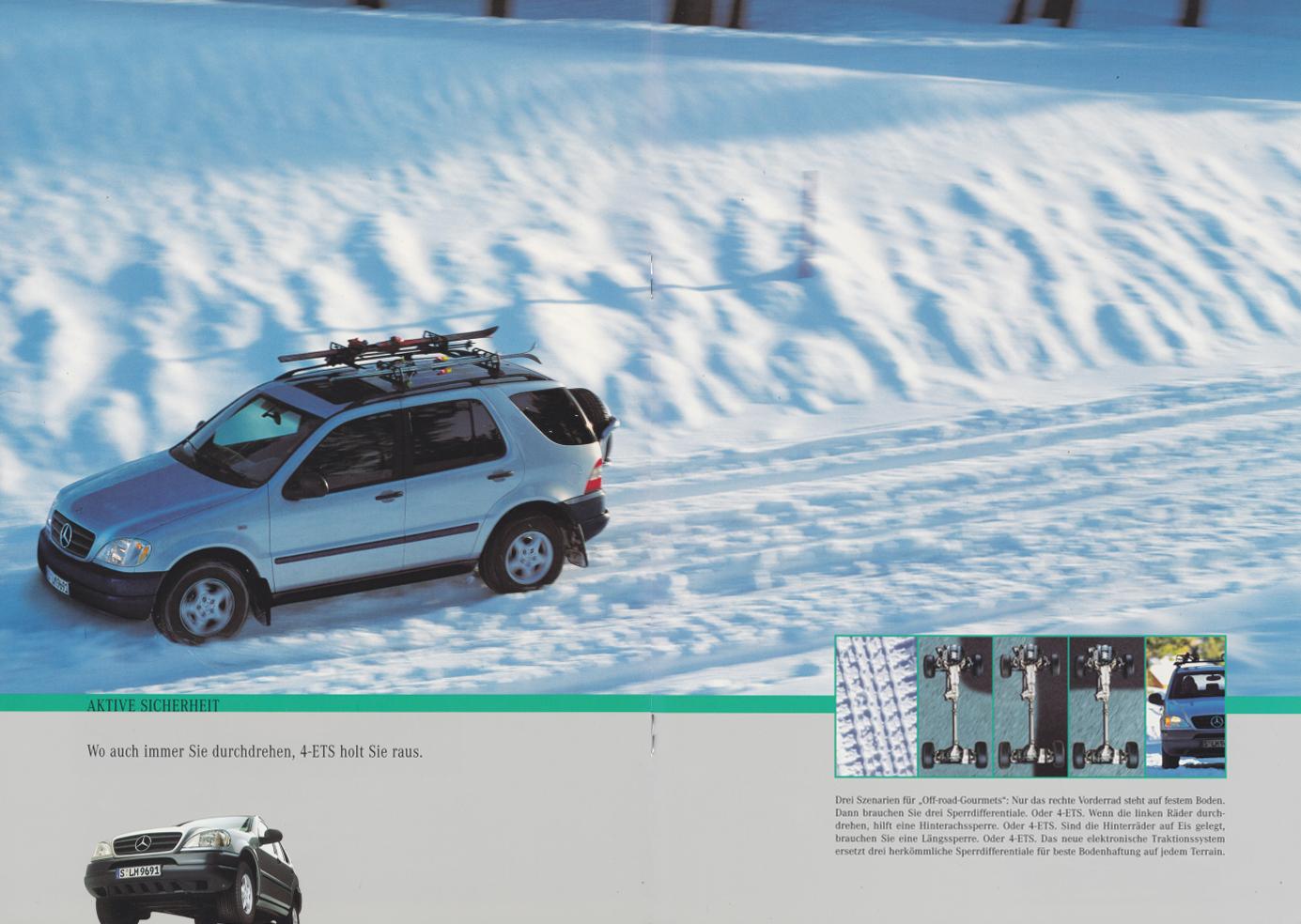 (W163): Catálogo 1997 - alemão  009