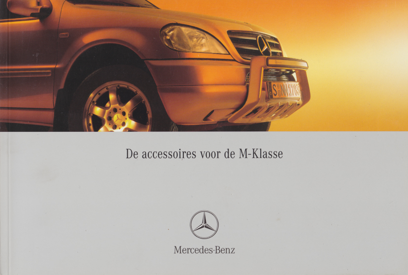 (W163): Catálogo 2001 - acessórios - neerlandês 001