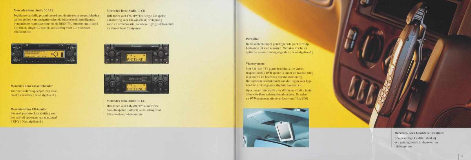(W163): Catálogo 2001 - acessórios - neerlandês 010