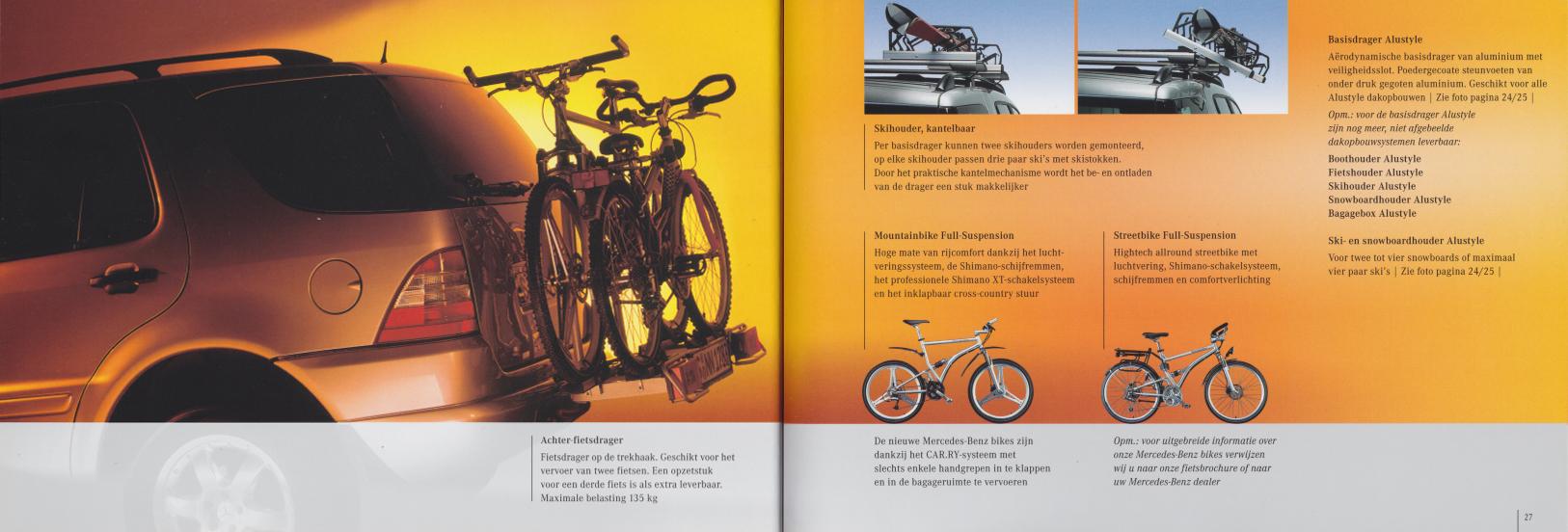 (W163): Catálogo 2001 - acessórios - neerlandês 014