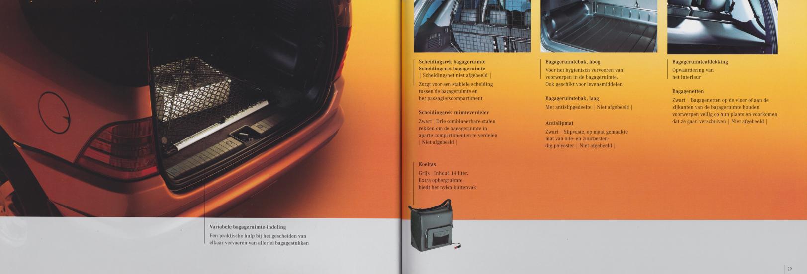(W163): Catálogo 2001 - acessórios - neerlandês 015