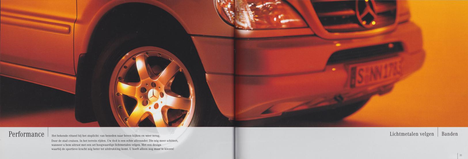 (W163): Catálogo 2001 - acessórios - neerlandês 016
