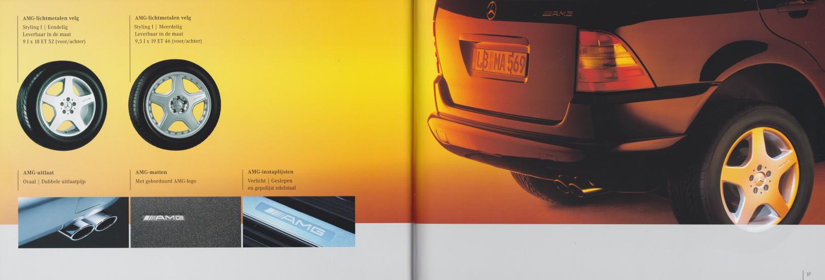 (W163): Catálogo 2001 - acessórios - neerlandês 019