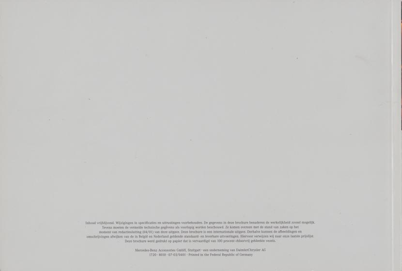 (W163): Catálogo 2001 - acessórios - neerlandês 021