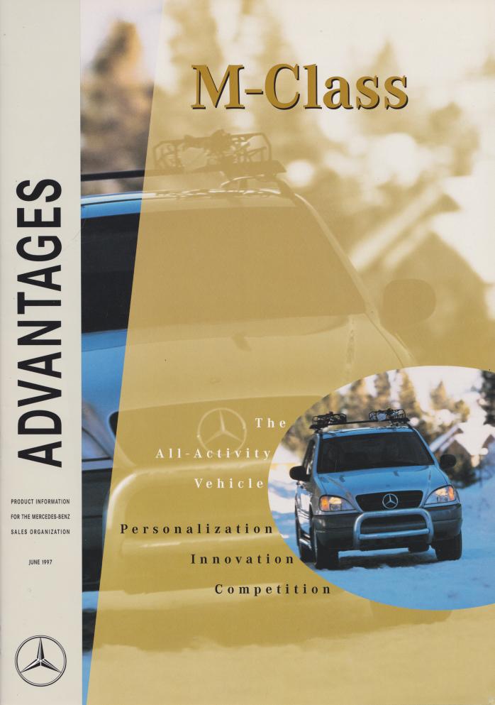 """(W163): Publicação oficial """"Advantages"""" 1997 027"""