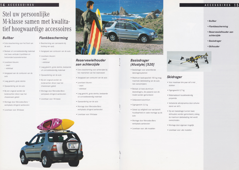 (W163): Prospecto ML430 1998 - neerlandês 008