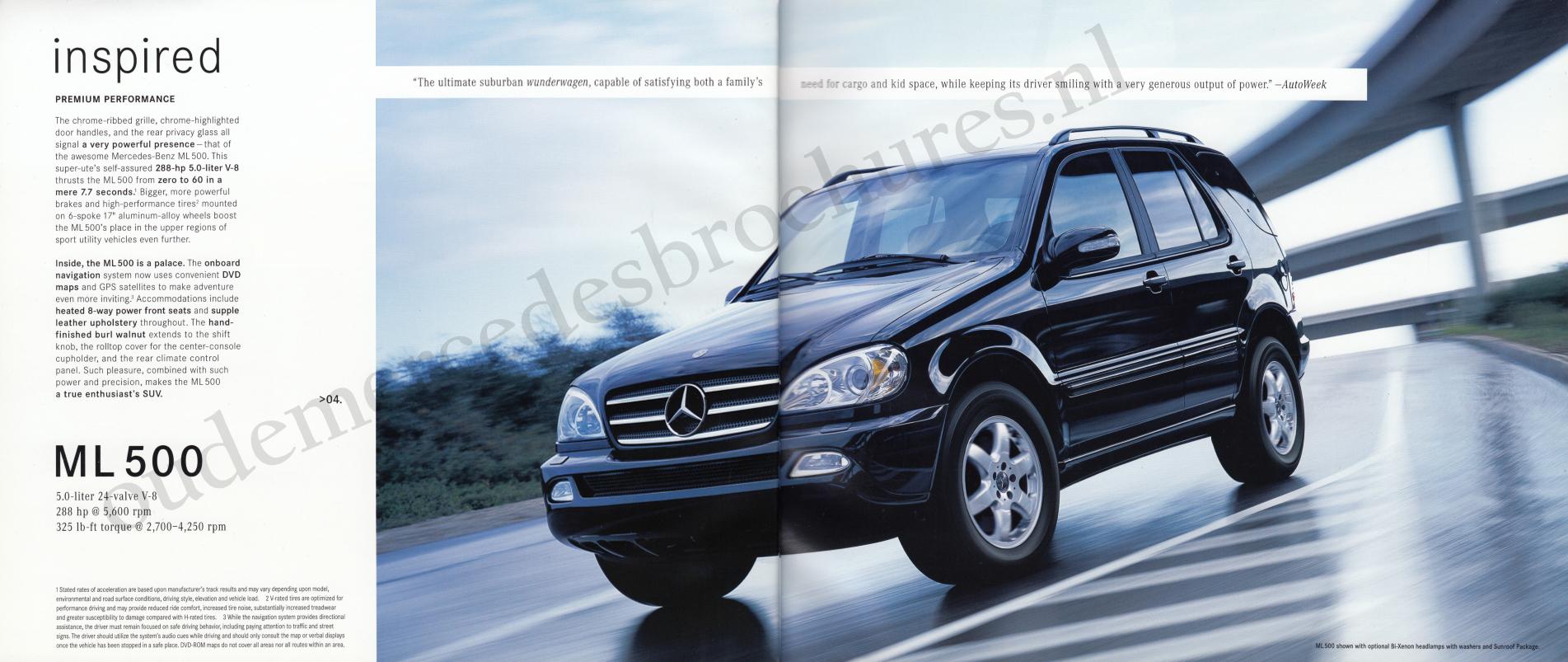 (W163): Catálogo USA 2003 - inglês 004