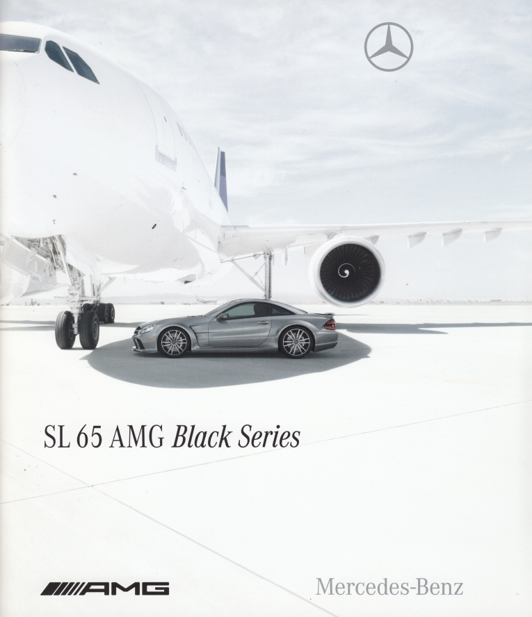 (R230): Catálogo SL65 AMG Black Series 2008 - inglês 001