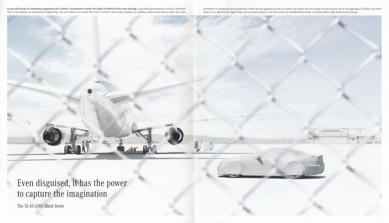 (R230): Catálogo SL65 AMG Black Series 2008 - inglês 002