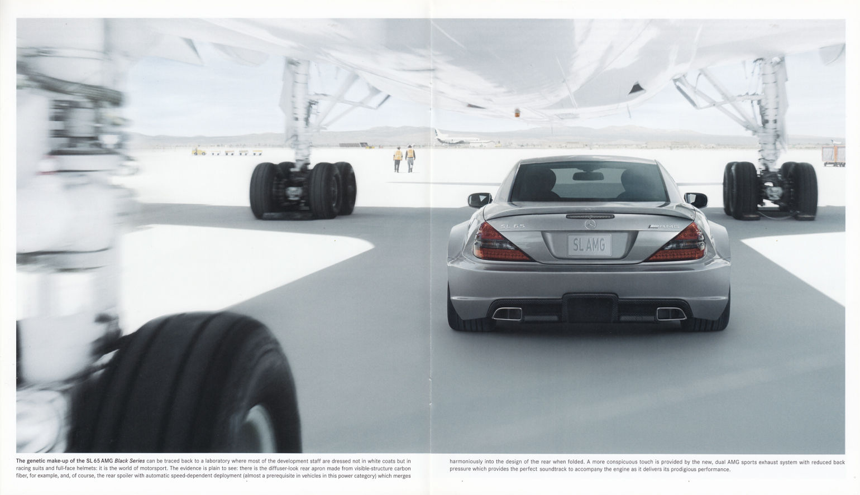 (R230): Catálogo SL65 AMG Black Series 2008 - inglês 006