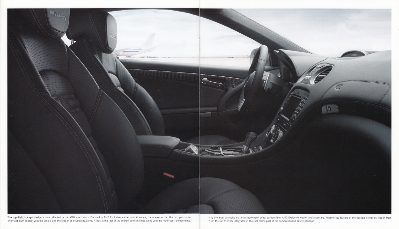 (R230): Catálogo SL65 AMG Black Series 2008 - inglês 009