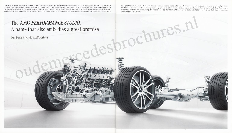 (R230): Catálogo SL65 AMG Black Series 2008 - inglês 010