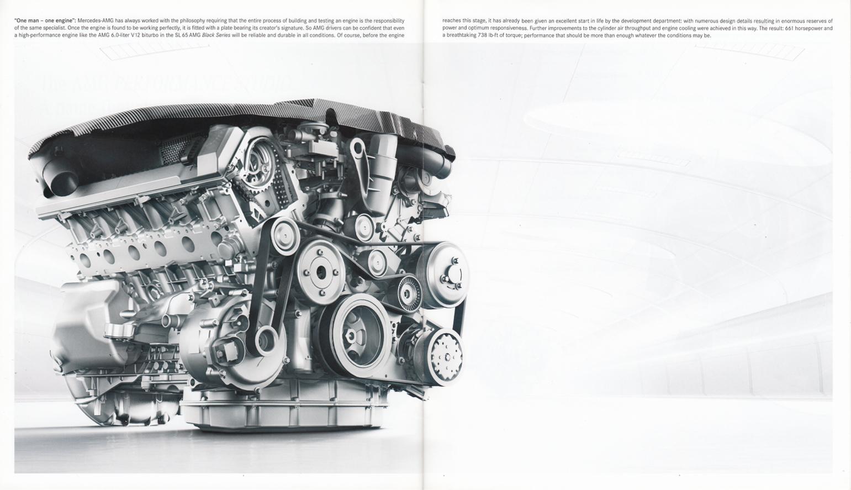 (R230): Catálogo SL65 AMG Black Series 2008 - inglês 011