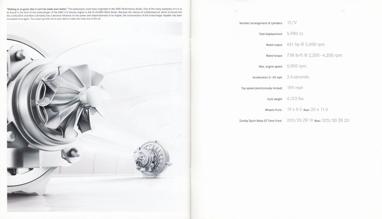 (R230): Catálogo SL65 AMG Black Series 2008 - inglês 012